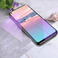 For Huawei Honor 20 Pro 20S 20i 10 Lite 10i Play 3 View 20 Note 10 Magic 2 Anti Blue Tempered Glass Screen Protector Film|Phone Screen Protectors| |  -