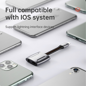 Image 5 - Mcdodo Aux Audio Adapter OTG Lightning To 3.5mm Jack Call Audio Earphone Converter Splitter for iPhone 11 Pro X XR XS Max IOS 13