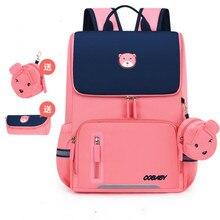 2020 Children School Bag Girls Kids Primary school backpack princess Orthopedic Backpack schoolbag kids Mochila Infantil