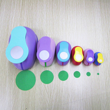 Round 8-75mm DIY Embossing Punches Sale Corner Scrapbooking Machine Paper Cutting Craft Hole Punch Rounder Cutter Circle Puncher