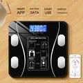 Весы для тела, BMI весы, Смарт Электронные весы для ванной, домашний светодиодный весы, цифровые весы