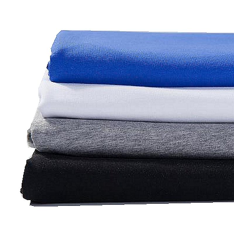Эластичная хлопчатобумажная трикотажная ткань для футболки Diy и платья Повседневная одежда тканевый швейный материал 50*170 см/шт. KA0385