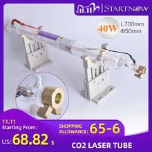 Startnow CO2 Tubo Del Laser 40W 700 millimetri di Vetro Della Lampada Laser Per CO2 Incisione Laser Tubo Macchina di Intagliare di Marcatura di Taglio pezzi di Ricambio