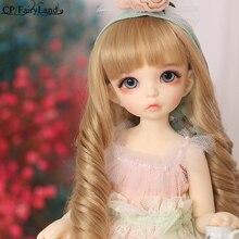 BJD poupées Littlefee Ante 1/6 Yosd Rose, Rose doré, cheveux bouclés Lolita full Option pour filles, meilleurs cadeaux, FL