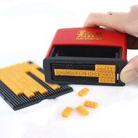 핸드 헬드 코딩 기계  소형 레터 프레스 기계  잉크 날짜 프린터  수동 날짜 스탬프 스탬핑 날짜 기계