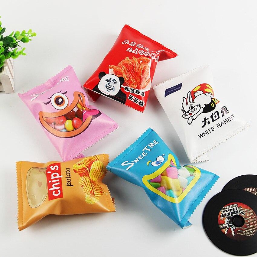 New Potato Chips Pencil Case For School Supplies Kawaii School Stationery Pencil Case Pencil Box Pencil Bag 1PC