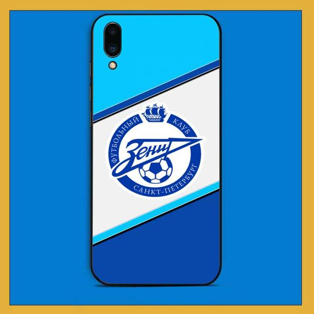 Toplbpcs Fc Zenit Football Club Logo Black Phone Case Hull For Vivo Y91c 31 53 19 11 17 81 55 66 69 71 V11 I 9 7 67 Half Wrapped Cases Aliexpress