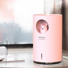 קוטב דוב חמוד חיות מחמד אדים 700ML גדול קיבולת אולטרסאונד ארומה אוויר Difusor עם צבע LED אור בית Humidificador