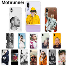 Motirunner Macs Miller Transparent TPU Soft Phone Cover for iPhone 11 pro XS MAX 8 7 6 6S Plus X XR 5 5S SE cover(China)