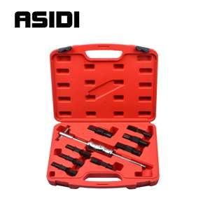 Image 1 - 9Pc Blind Hole Slide Hammer Pilot Bearing Puller Internal Extractor Removal Kit
