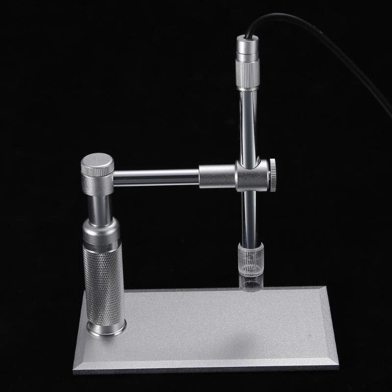 Tools : 2MP USB Digital Microscope 500x 8 LED Camera Stand Microscopy CMOS Sensor 2 Megapixel Light Source 8 LED Control Wheel Adjust