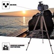 WT3130 Aluminum Alloy Camera Tripod with Rocker Arm for Canon Nikon Sony DSLR Cameras Camcorders Lightweight Mini Tripod цена 2017