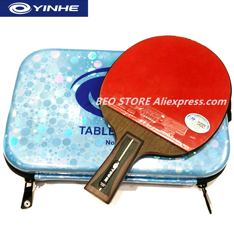 YINHE 12-Star Racket Galaxy Arbalest Sponge Carbon Quick Attack Loop Table Tennis Rackets Ping Pong Bat
