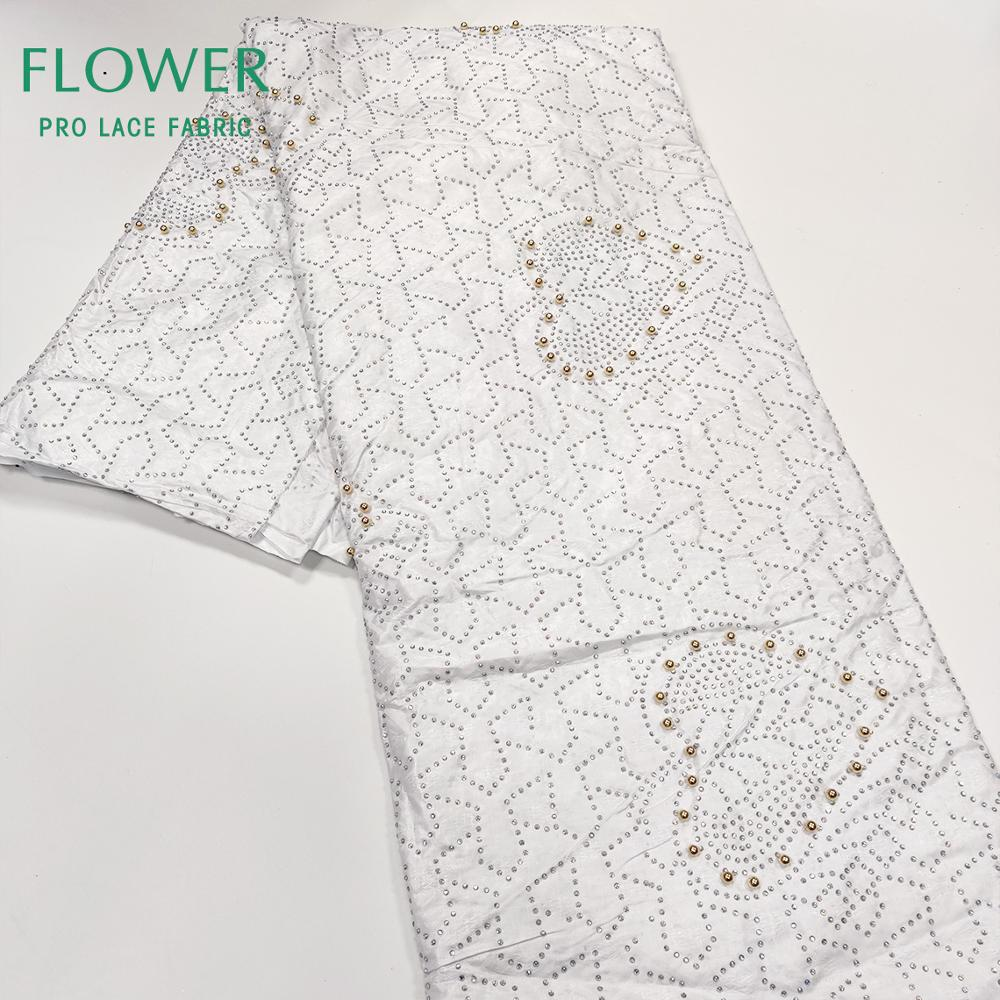 High Quality Swiss Voile Lace In Switzerland Nigerian Lace Fabrics African Cotton Voile Lace Fabric For