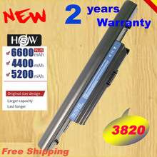 HSW New Laptop Battery For Acer Aspire 3820 TimelineX 3820T 3820TG 4820 4820T 4820TG 5820 5820T 5820TG AS3820T fast shipping
