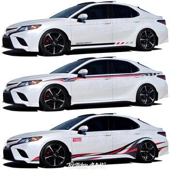цена на For Toyota Camry Avalon 2019 Car Sticker Body Exterior Decoration Sticker Avalon Sport Exterior Modification