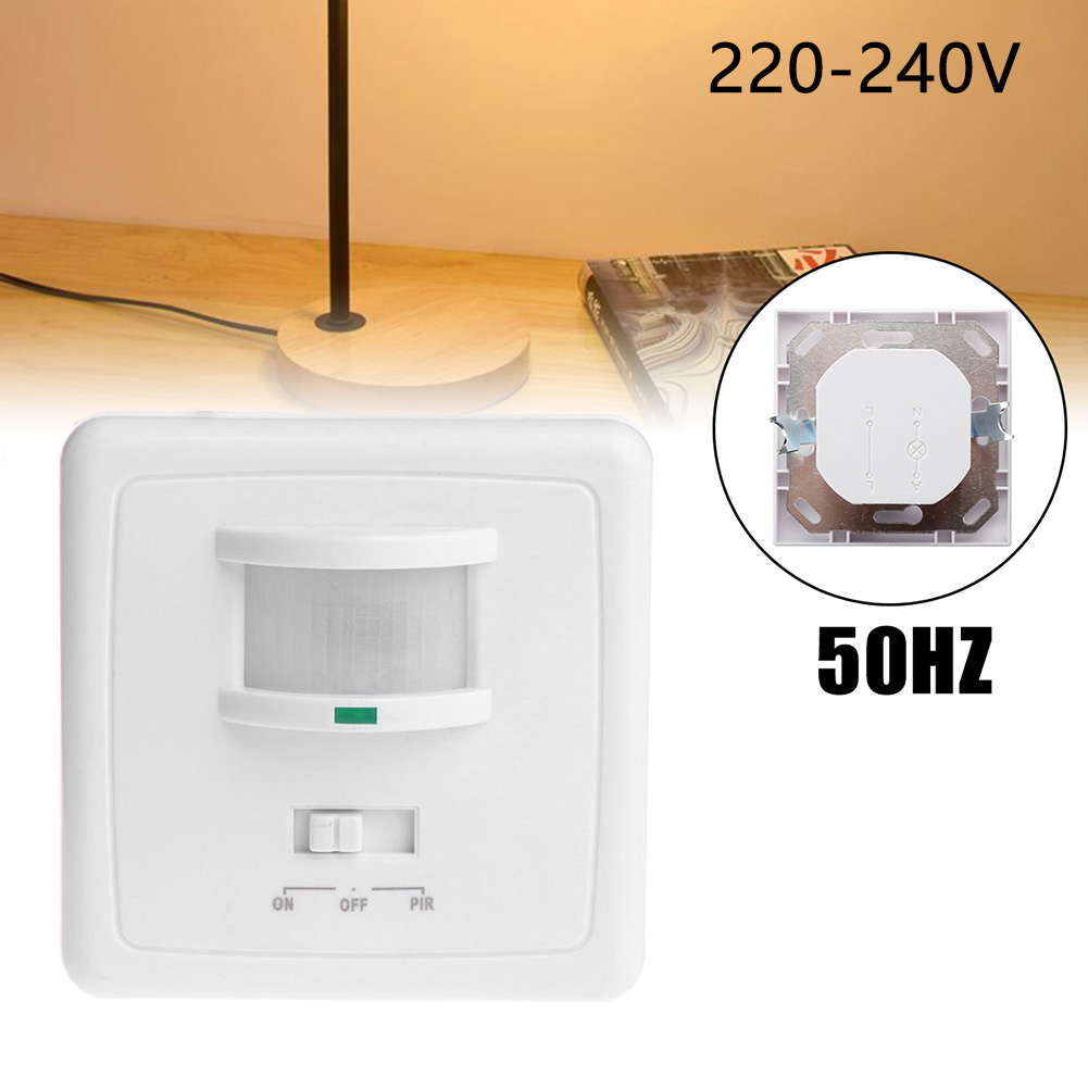 Wall Switch Mounted Motion Sensor Light Switch Distance Occupancy Sensor Pir Motion Light Switch Presence Infrared Body Sensor