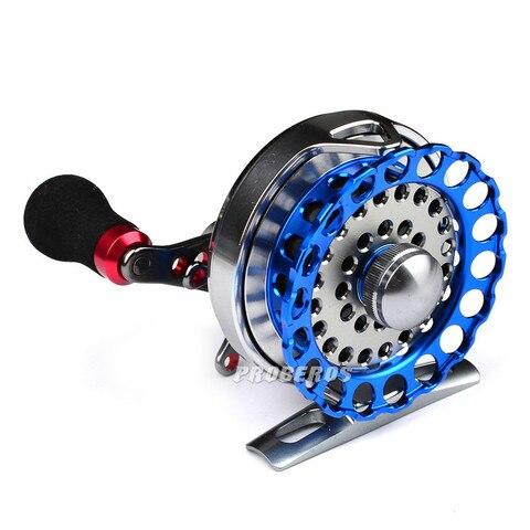 Jangada toda a roda de pesca jangada de metal pr60 roda de pesca com mosca