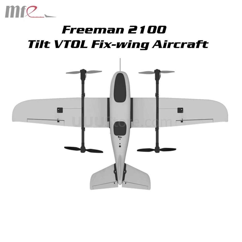 Makeflyeasy Freeman 2100 Tilt VTOL Aerial Survey Carrier Span Wing 2100mm UAV Mapping