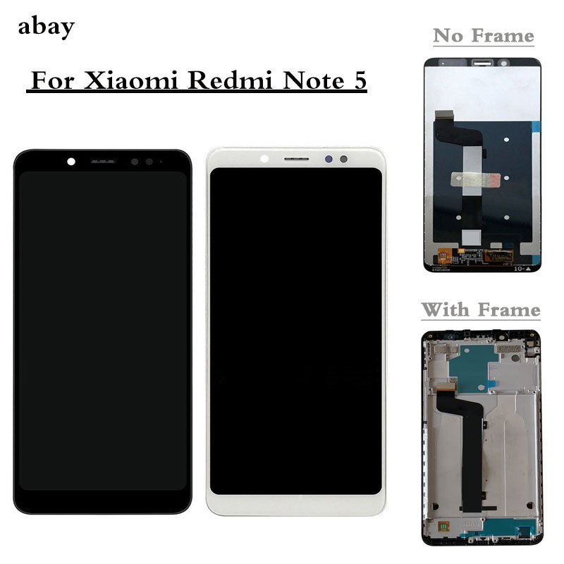 For Xiaomi <font><b>Redmi</b></font> <font><b>Note</b></font> <font><b>5</b></font> <font><b>Pro</b></font> <font><b>LCD</b></font> Display Touch Screen Test Good Digitizer Assembly Replacement For Xiaomi <font><b>Redmi</b></font> <font><b>Note</b></font> <font><b>5</b></font> <font><b>5</b></font>.99 Inch image