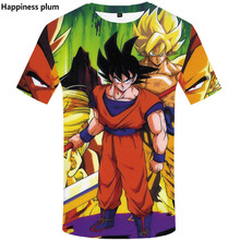 3D Print Novelty funny t shirts 2019 new Dragon ball T-shirt Summer Mens One Piece 3d Mans Tops Tee Plus size S-5XL