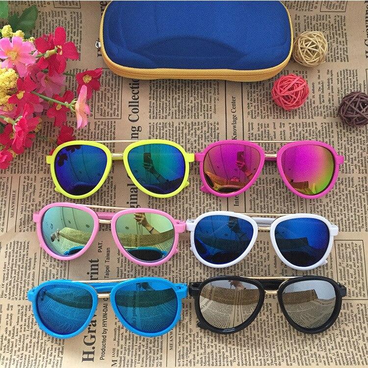 2020 Cute Suqare Children Sunglasses Brand Kids Girls Boys Toddler Sun Glasses Oculos De Sol Infantil