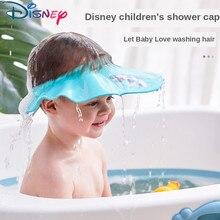 Disney Adjustable Baby Shower Hat Cartoon Shampoo Cap Wash Hair Shield Shower Hat Baby Care Children Bath Head Assistant