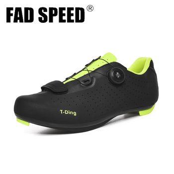 Sapatos de ciclismo de bicicleta sapatos de ciclismo anti-deslizamento respirável homem de corrida de estrada sapatos de bicicleta atlética sapatos de auto-bloqueio sapatos de ciclismo 1
