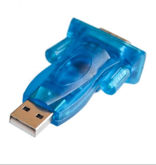 1 шт., новый последовательный преобразователь USB 2,0 в RS232, 9-контактный адаптер для Win7/8, оптовая продажа