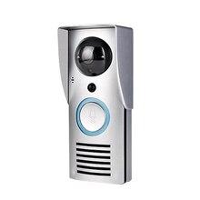 Abkt-интеллектуальный wifi видео дверной звонок беспроводной видео дверной звонок удаленный домашний мониторинг видео голосовой домофон(EU PLUG