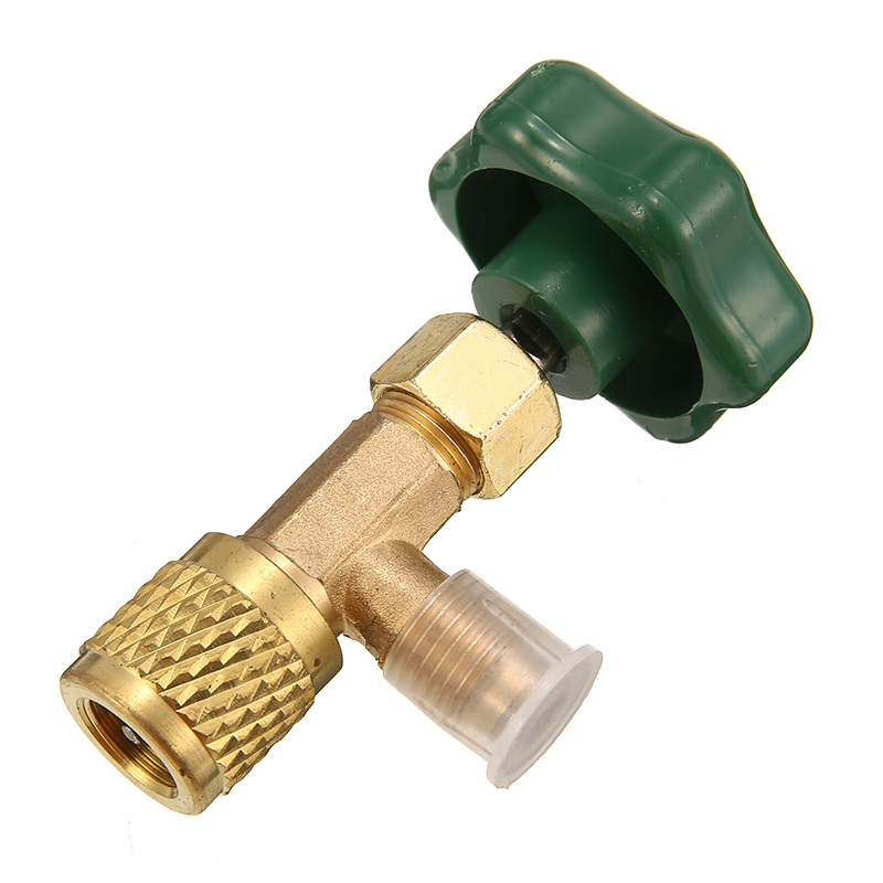 Mayitr 1 шт. Дозирующий клапан открывалка для бутылок прочный хладагент бутылка может нажать 1/4 SAE резьба адаптер для R12 R22 газовый хладагент|Установки для кондиционирования|   | АлиЭкспресс