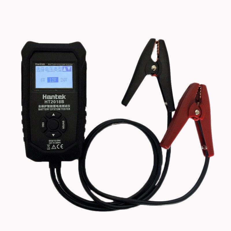 Hantek testeur de système de batterie de voiture automobile HT2018B analyseur de charge de capacité de batterie LCD numérique 6 V/12 V/24 V
