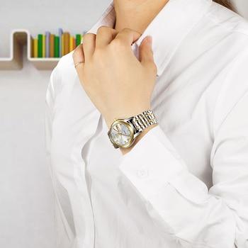 LIGE 2020 New Gold Watch Women Watches Ladies Creative Steel Women's Bracelet Watches Female Waterproof Clock Relogio Feminino 5