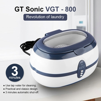 GT Sonic VGT 800 Ultrasonic Low Noise Portable Vacuum Cleaner For Home Deep Cleaning For Home Use Cleaner Washing Equipment