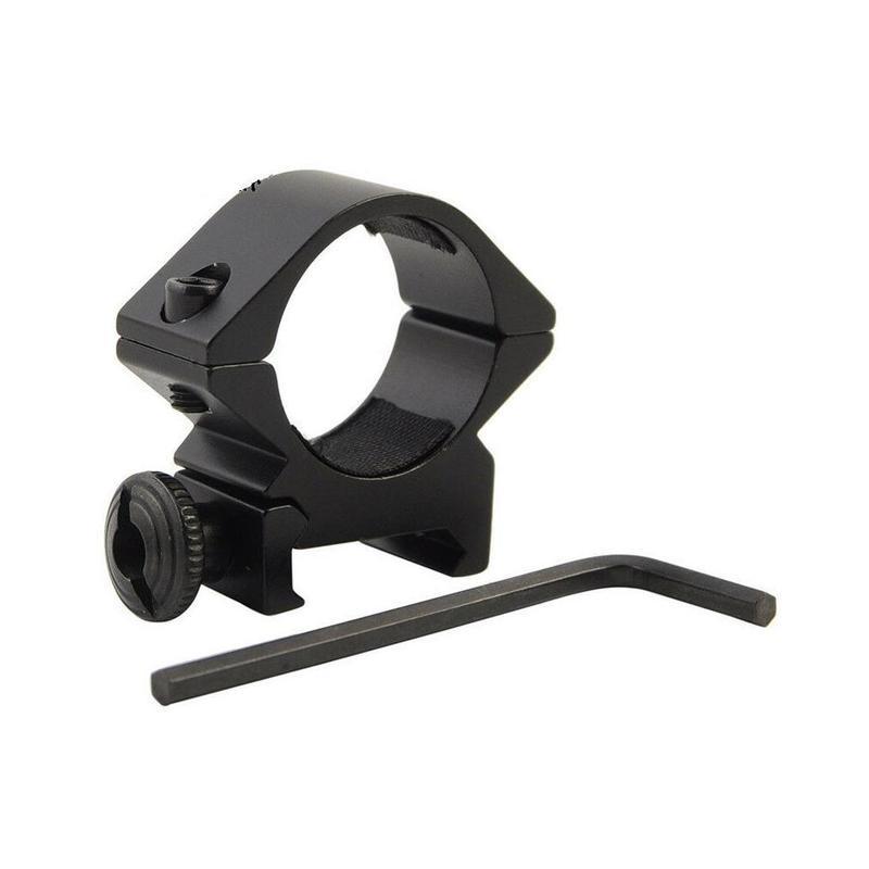 25.4mm QD zasięgu latarka celownik laserowy pierścień latarka pierścień instalacja wiatrówka polowanie karabin zakres