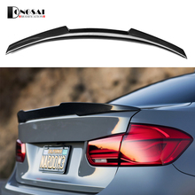 carbon fiber replacement spoiler 3 series f30 M4 style rear trunk wings for bmw 2012+ 320i  325i 328i 335i