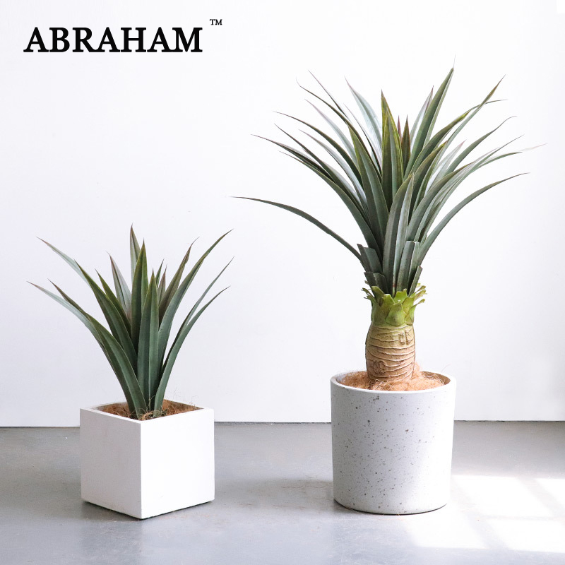 Agave Potted Artificial Plants Grass