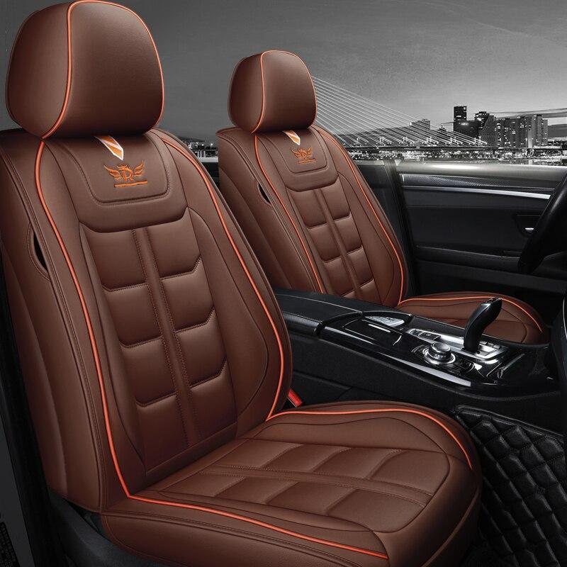 Negro-azul efecto 3d fundas para asientos para citroen c elysee asiento del coche delante de referencia