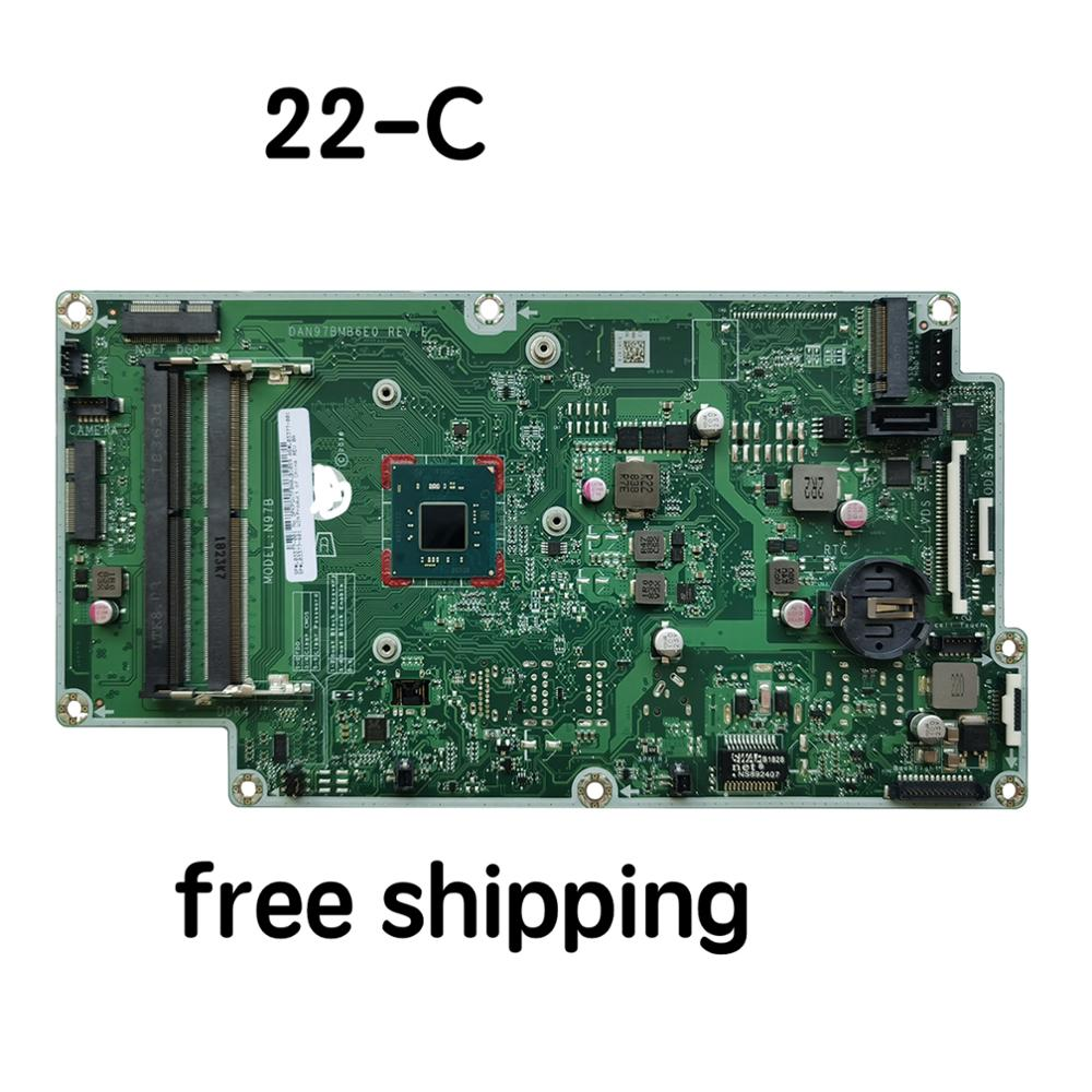 L03377-001 For HP Pavilion 22-C Motherboard DAN97BMB6E0 L03377-601  Mainboard 100%tested Fully Work