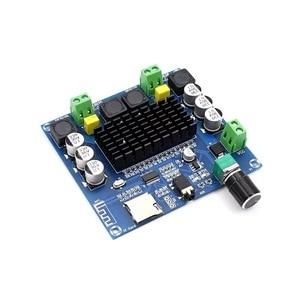 Image 4 - 2*100W Bluetooth 5.0 ses amplifikatörü kurulu TDA7498 güç dijital Stereo alıcı AMP hoparlörler ev sineması Diy