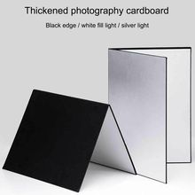 Cardboard Product Photography Ceramic Foldable Double-Sided A4 for Glass Cosmetics 3-In1
