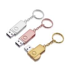 금속 Pendrive 열쇠 고리 Usb 섬광 드라이브 4gb 8g 16gb 32gb 64gb 저장 디스크 고속 기억 지팡이 (10pcs 주문 자유로운 로고 이상)