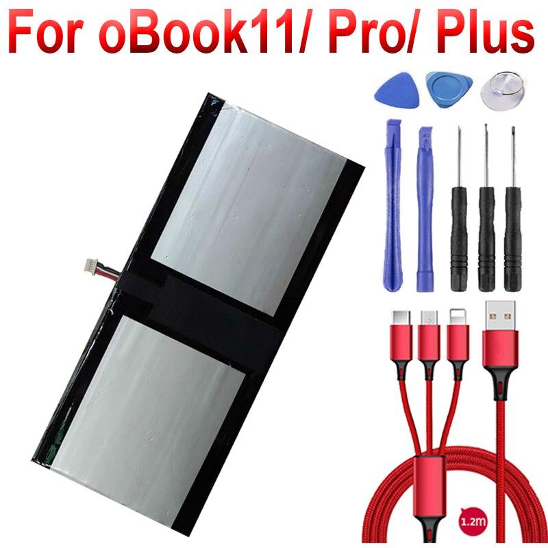 Bateria para Onda oBook11 oBook11 pro oBook11 plus Tablet PC Substituição da bateria + cabo USB + toolki