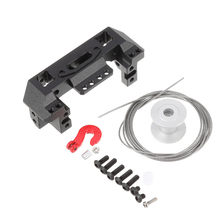 1PCS 1/10 RC Crawler Multifunctional Servo Front Winch Bracket Remote Control Cars Parts For SCX10 RC Car(China)