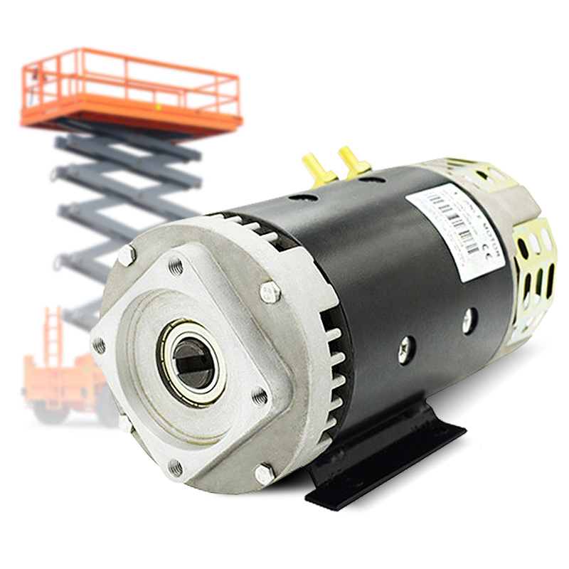 High Torque <font><b>3KW</b></font> 24 Volt <font><b>DC</b></font> <font><b>Motor</b></font> Electric For Excavator image
