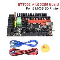 Bigtreetech btt002 v1.0 placa de controle 32 bits com tmc2209 peças da impressora 3d vs skr v1.4 skr mini e3 para i3 mk3 placa atualização|Peças e acessórios em 3D| |  -