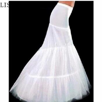 ¡Superventas! Envío Gratis, enaguas de sirena blanca, miriñaque, enaguas de novia para vestido de novia, accesorios nupciales, moda