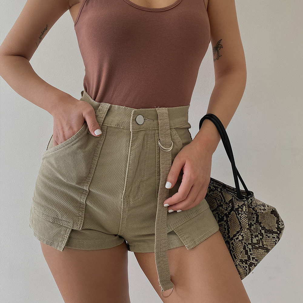 2020 New Fashion Casual Women's Clothing High Waist Denim Shorts Jeans