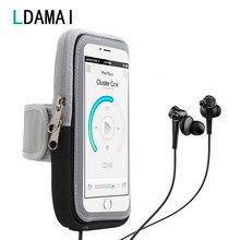 Universal 6.5 polegada esporte telefone celular braço saco correndo esportes caso do telefone banda braço para iphone samsung huawei celular braço bolsa