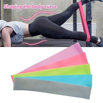 Hot Elastic Yoga Resistance Bands Workout  Exercise Loop Home Outdoor Gym Fitness Equipment Yoga Training Stretch Bands New